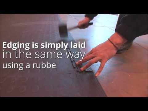 Interlocking Pvc Floor Tiles 100
