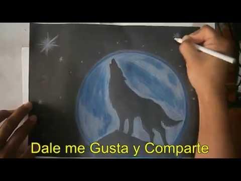Como Dibujar Un Lobo Aullando 2016 Youtube