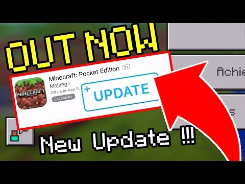 NEW Minecraft Pocket Edition Update RELEASED on ALL DEVICES!!! // NEW Minecraft PE Update OUT NOW