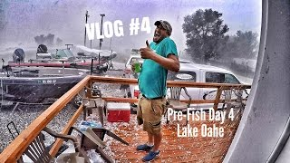 we survived another storm in mobridge south dakota during pre fish for the cabelas nwt championship