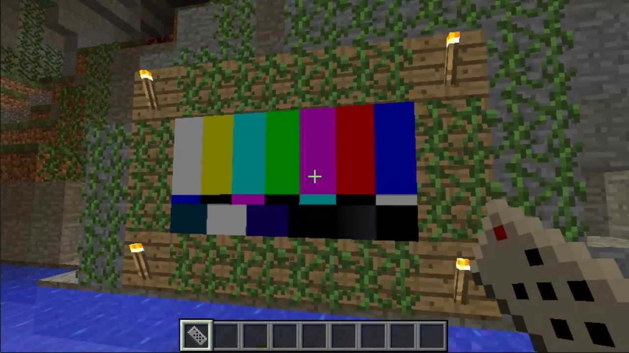 how to make working tv minecraft youtube