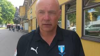 Uwe Rösler efter 4-0 mot IK Sirius