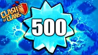 500 LEVEL - Clash Of Clans !?