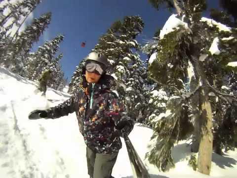 Snowboarding Whistler 2012