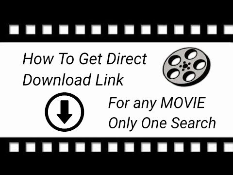 How to get direct download link for any movie only one search