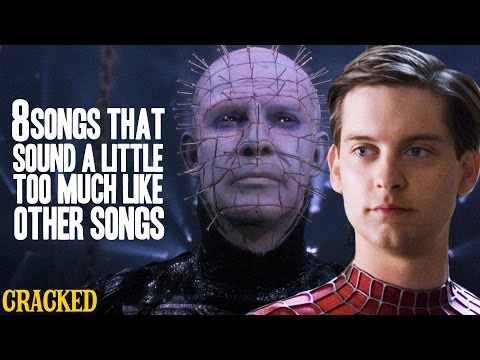 8 Songs That Sound A Little Too Much Like Other Songs