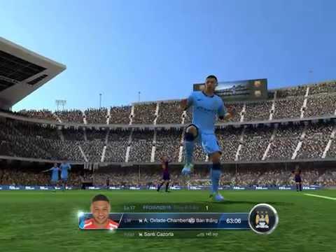 Fifa Online 3 Arsenal-Barcelona Trận đấu xếp hạng hay nhất Ban bật 1 chạm