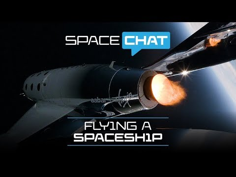 Science With Virgin Galactic | Flying a spaceship