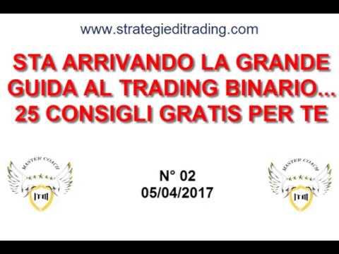 Opzioni binarie strategie di trading