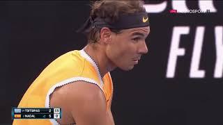 Nadal vs Tsitsipas Australian Open 2019 Highlight