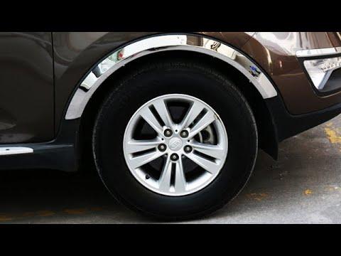 5 отличных накладок на арки авто с AliExpress