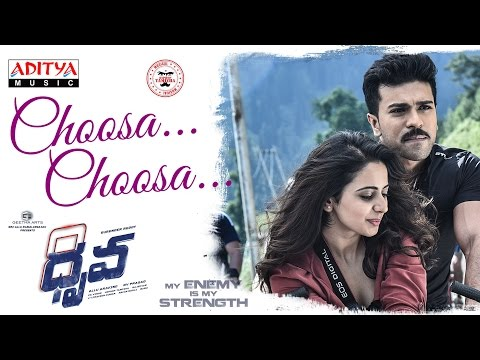 Choosa Choosa Full Song | Dhruva Movie | Ram Charan, Rakul Preet Singh || Hiphop Tamizha