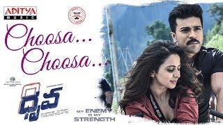 Download Hindi Video Songs - Choosa Choosa Full Song | Dhruva Movie | Ram Charan, Rakul Preet Singh || Hiphop Tamizha