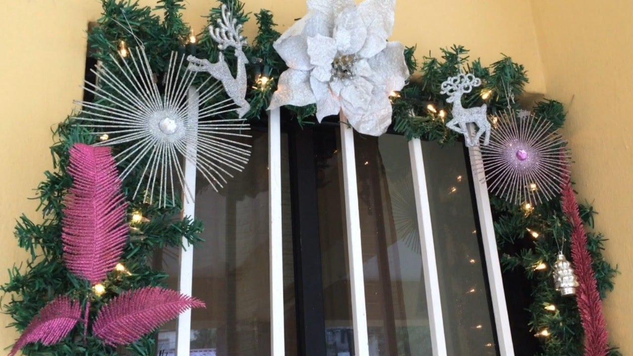Decoraci n de paredes y ventanas navidad 2015 2016 diy - Decoracion de interiores navidad ...