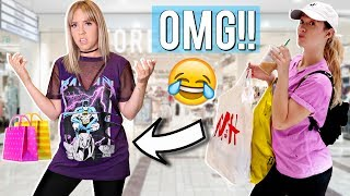 One of Ashley Nichole's most viewed videos: Sister Buys My Outfits for Me! Shopping Challenge | Ashley Nichole + Alisha Marie!