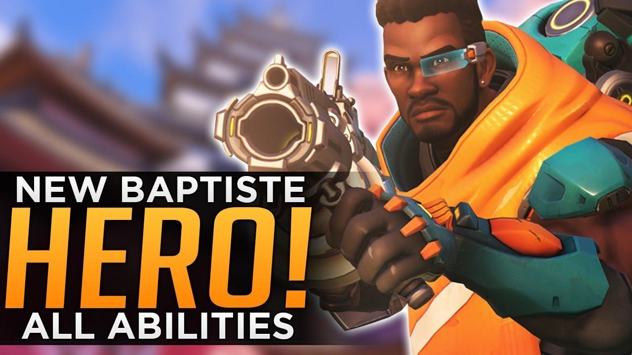 Overwatch: NEW Hero Baptiste Gameplay! - ALL Abilities Breakdown