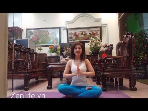 Yoga tại nhà - Bài tập chữa bệnh cột sống, đau lưng. Phục hồi xương sống.