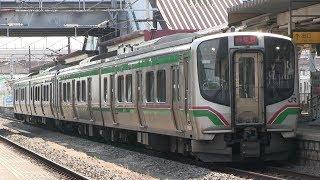 JR東北本線 福島駅 E721系(仙台シティラビット)