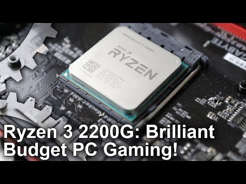 Ryzen 3 2200G/ Ryzen 5 2400G review: triple-A gaming without a