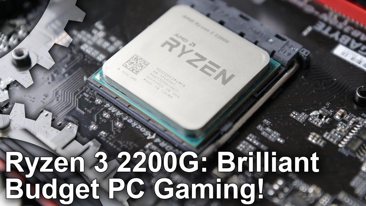 Ryzen 3 2200G/ Ryzen 5 2400G review: triple-A gaming without a