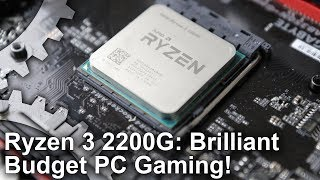 Ryzen 3 2200G Review: Triple-A PC Gaming From A $99 Processor?