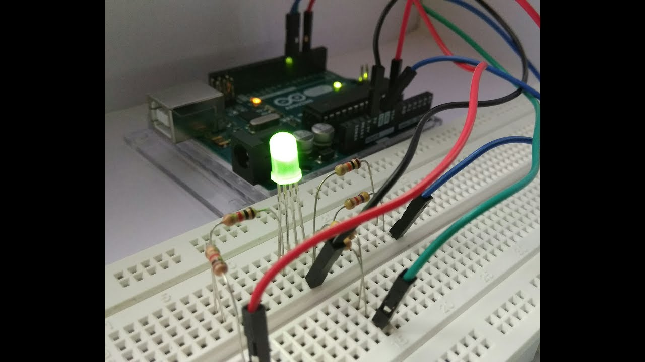 How To Make Simple Rgb Led Driver Circuit Youtube Diagram Light Bulb
