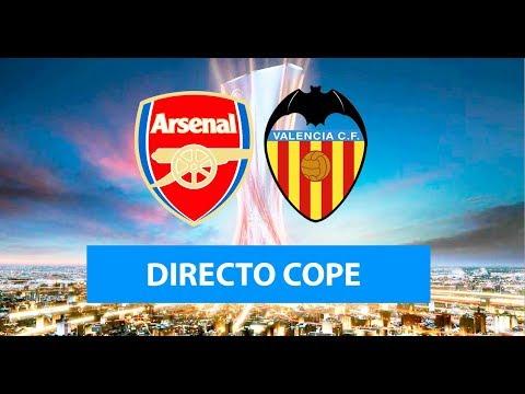 (SOLO AUDIO) Directo del Arsenal 3-1 Valencia en Tiempo de Juego COPE
