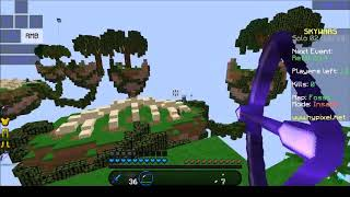 Minecraft skywars with Voice changer