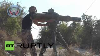 Syria: FSA affiliate video claims Russian-made helicopter was destroyed near Latakia