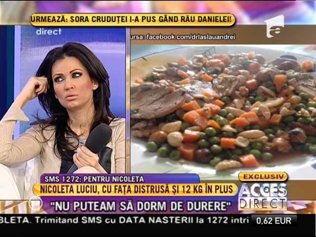 Dieta Nicoleta Luciu: 35 de kg in 2 luni!