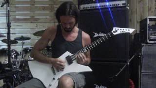 Raffael Trimmal from Black Inhale - DIE ALONE PT. II (Guitar Playthrough)