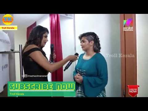 Interview troll video Parvathy dance troll video
