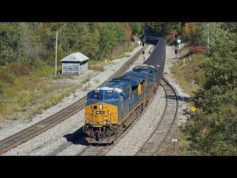 The Best Of The Rest 2016 Railfanning Csx Edition Youtube