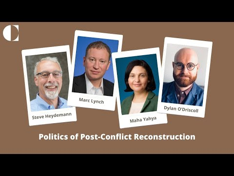 Politics of Post-Conflict Reconstruction