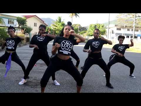 Skinny Fabulous, Machel Montano, Bunji Garlin - Famalay Official Dance Video | U4U DANCE PROJECT