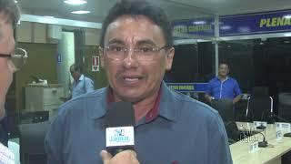 Amarílio Ribeiro - Vereador - Posse nova mesa diretora Câmara Municipal de Russas.