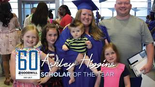 2017 NexStep Alliance Scholar of the Year, Ashley Higgins - Goodwill Industries of Kansas