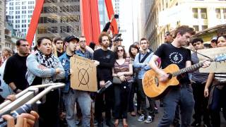 Justin Sane Anti Flag The Press Corpse At Occupy Wall Street