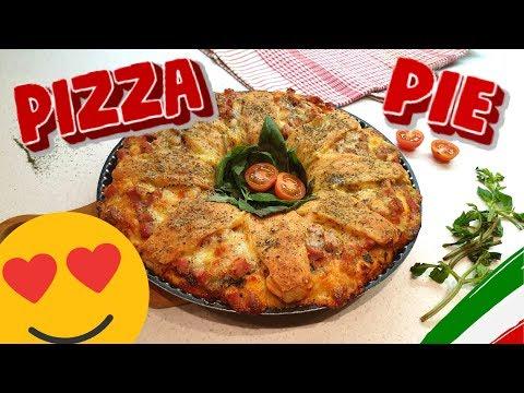 Tasty Italian Pizza Pie Recipe. How To make Easy homemade Pizza. Make It Yummy