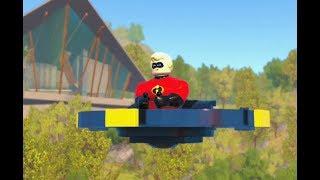 Lego The Incredibles - All Minikits Level 11 Above Parr 100% Free play Walkthrough