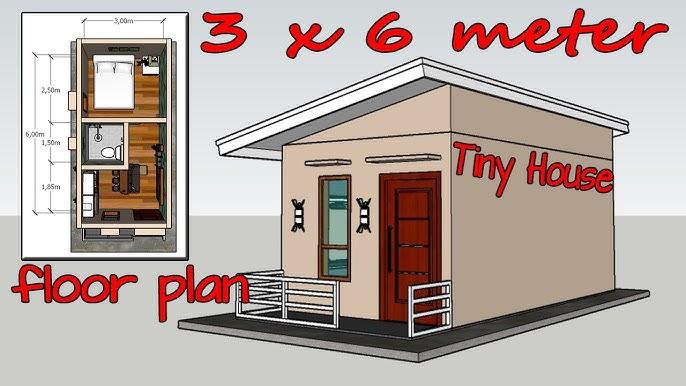 Tiny House Design 3x6 Meter Youtube
