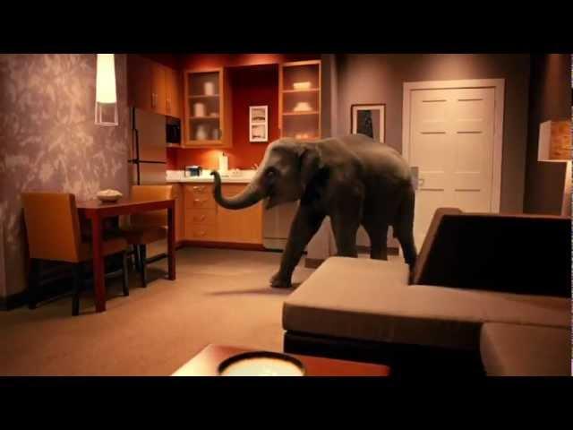 "Marriott Residence Inn ""It's Not a Room Elephant"""