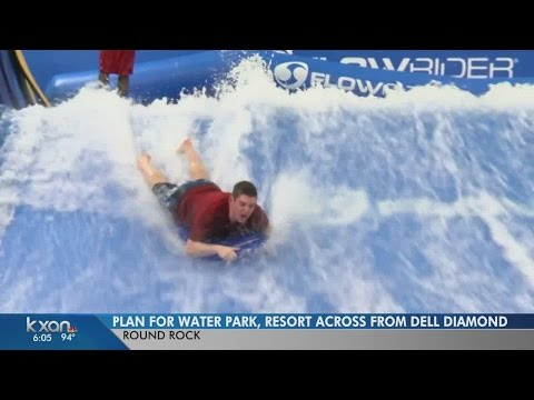 1,000-room water park resort planned for Round Rock
