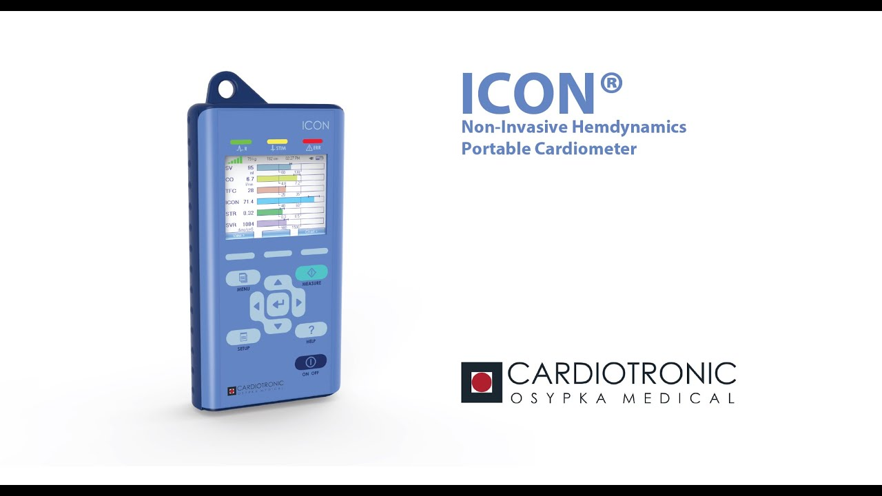 icon non-invasive hemodynamic monitor