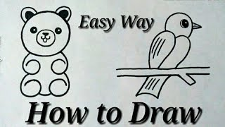 Simple Drawing Ideas For Beginners