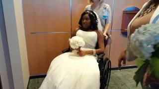FRED AND NICOLE ZIMMERMAN GET MARRIED AGAINST ALL ODDS!
