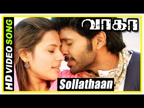Sollathaan song | Wagah Tamil movie scenes | Vikram Prabhu p