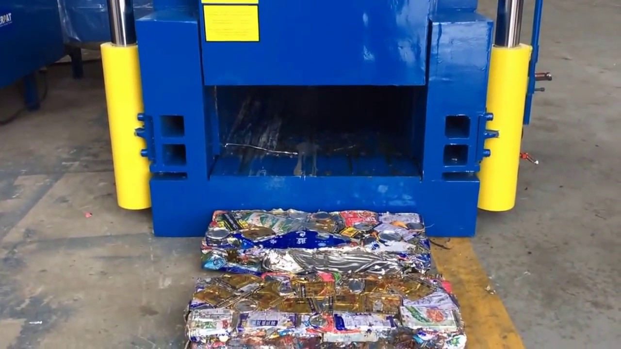 Aluminum Cans Trash Compactor : Best popular aluminum can baler tin compactor with