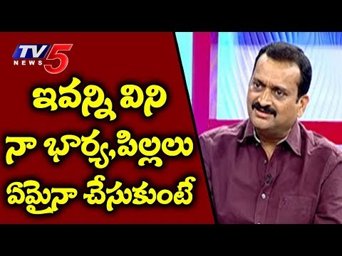 Bandla Ganesh Gets Emotional With TV5 Murthy In Live Debate | TV5 News