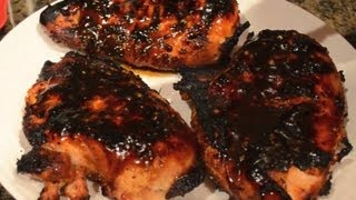 Fuzzy's Kitchen - Orange Teriyaki Glazed Chicken Breast